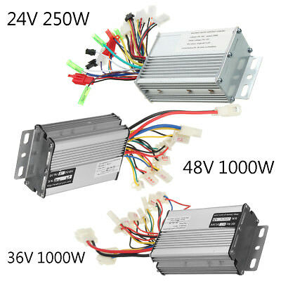 24V/36V/48V 250W/1000W Electric Scooter Speed Controller Motor For Bike Bicycle