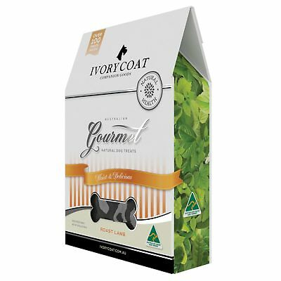 Ivory Coat Gourmet Roast Lamb Dog Treats (5 X 300G) Healthy Dog Treats