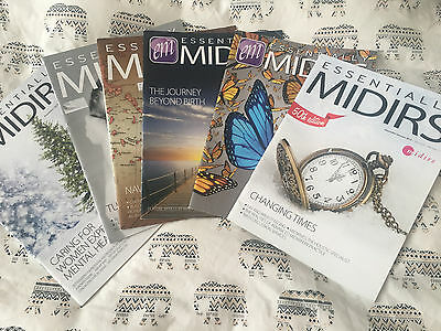Midwifery Journals - 6 MIDIRS Magazines. Helpful for University Interviews.