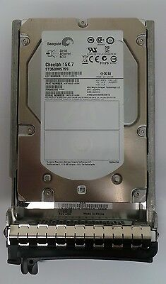 "SEAGATE ST3600057SS 600GB Hot Pluggable SAS 3.5"" HDD 15K  DRIVE in Dell Caddy"