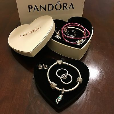 Pandora Limited Edition Heart Shape Jewelry Box