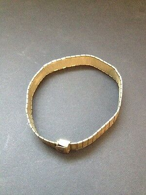 Vintage Rolled Gold Adjustable Bracelet 28grams (BOX J)