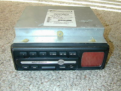 Harley Davidson 2004 Radio 76202-04 CVO ESS CD Player High Power Amplifier RARE
