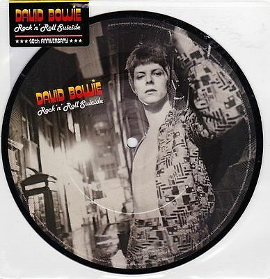 David Bowie - Rock 'n' Roll Suicide Picture Disc new sealed with sticker
