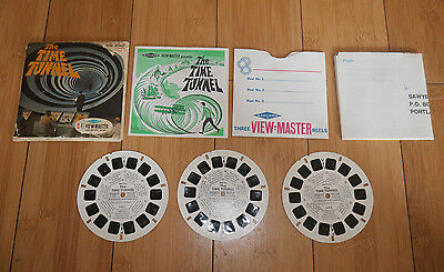 The Time Tunnel 1966 Viewmaster Reels Set B491 Very Rare 100% Original  (415)