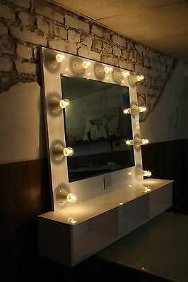 Make up Hollywood Vanity Mirror with lights White or Black