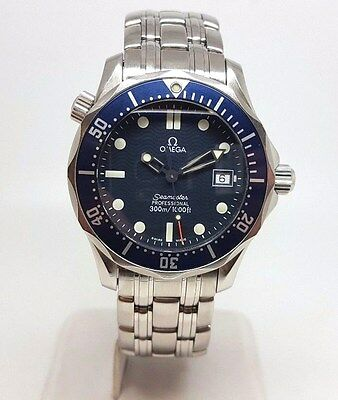 Omega Seamaster Stainless Steel Mid-Sized Quartz Watch (2111)