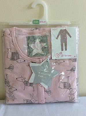 Beautiful NEXT Girls All-in-One Pyjamas 12yrs BNWT!!!