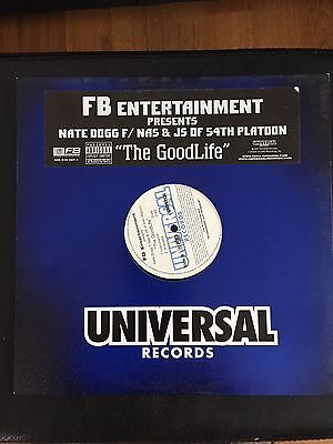 Nate Dog Feat Nas- The Good Life Hip Hop Vinyl 12