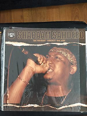 Shabaam Sahdeeq Feat Xzibit- Are You Ready Hip Hop Vinyl 12 Rawkus Records!