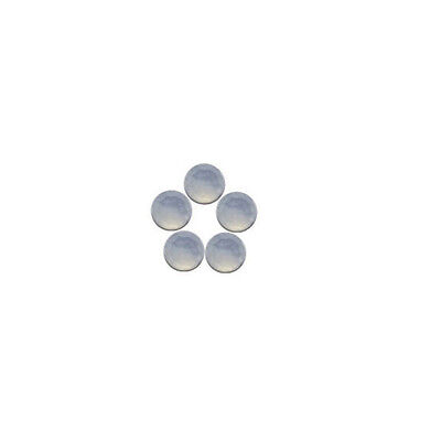 6x6mm 5pc AAA Quality Rose Cut Faceted Cabochon Chalcedony Loose Gems