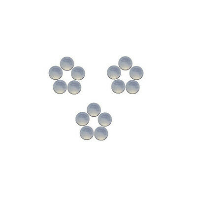 5x5mm 15pc AAA Quality Rose Cut Faceted Cabochon Chalcedony Loose Gems