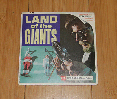 Land Of The Giants Viewmaster Reels 1968 Vintage Set B494 Rare   (414)
