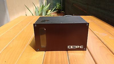 PC Computer XSPC X20 750 Dual Bayres Pump Tank Liquid Cooling 5.25 Bay Low Noise