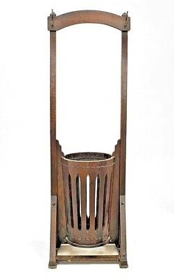 American Mission Arts & Crafts Quarter Sawn Oak Hatrack