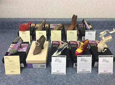 Just the Right Shoe - Lot of 40 shoes (3 AUTHOGRAPHED) - Batch 3
