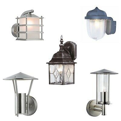 Outside Traditional or Modern Wall Garden Porch Lighting Lantern Light Fitting