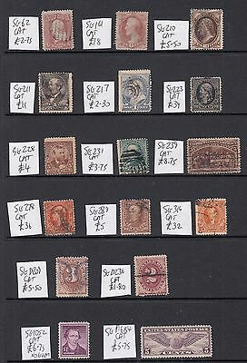 USA: old stamps