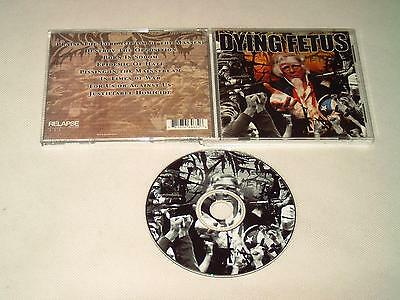 Dying Fetus - Destroy The Opposition - Cd 2000 Death Metal D43