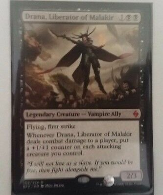 Magic: The Gathering - Drana, Liberator of Malakir - Battle for Zendikar - MTG