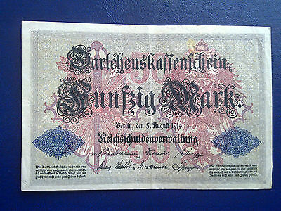 Germany - 50 Mark 1914 - Very Fine
