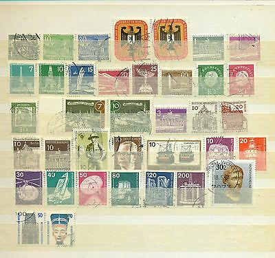 Germany - West Berlin - collection of used stamps