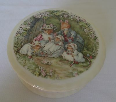 Royal Doulton Poppy's Babies Trinket Box