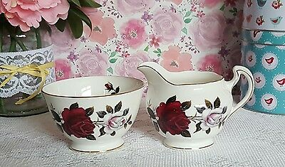 Colclough china milk & sugar set