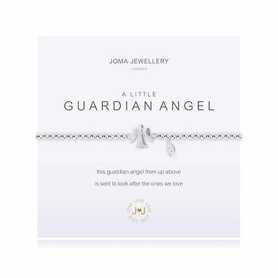 Joma A Little Guardian Angel Bracelet New Silver Plated Gift Present Idea ADULT