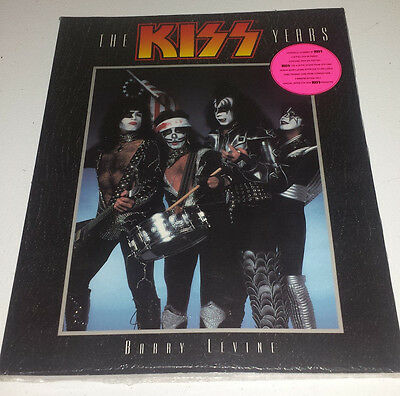 Kiss: photo book the kiss years (barry levine) 1997 new sealed+poster/cd/card