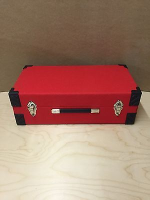 "7"" Record Vinyl Singles Case Box Storage Holds 300"