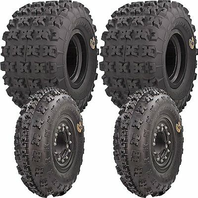 21x7-10, 20x11-9 GBC XC Master 6ply Front & Rear ATV UTV Tire Kit - 4 Tires