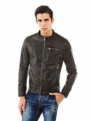 Blouson Guess style cuir taille S NEUF