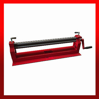 WNS Top Slip Bench Bending Rolls / Rollers 660mm x 30mm x 0.8mm Tube Rolling