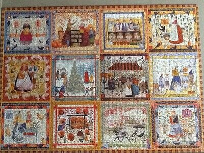 Bits and Pieces 1500 piece jigsaw Village Welcome