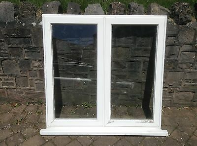 2 x timber casement windows