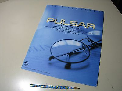 Nissan PULSAR 4/5Door Sedan Japanese Brochure 1992/02 N14 SR18DE GA16DE GA15DS