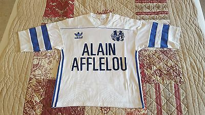 Maillot Shirt Olympique Marseille Football Om France Adidas Vintage Rare Jersey