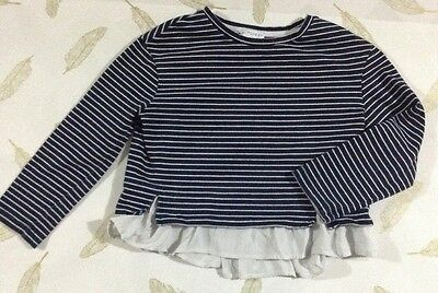 Witchery Girl Long Sleeve Top Size 5