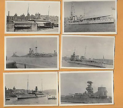 BRITISH MEDITERRANEAN FLEET MALTA  1928  Admiral Beatty, Dry Dock, Cardiff