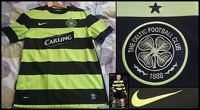 Maillot Shirt Celtic Glasgow 2009 Football Jersey England Vintage Nike Scotland