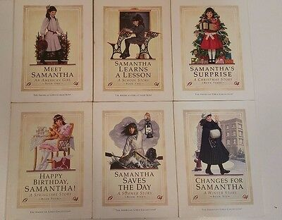 Samantha American Girl Complete Book Set 1-6 First Edition Pleasant Company
