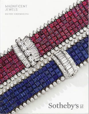 Sotheby's Magnificent Jewels Auction December 8, 2016 Afternoon Session