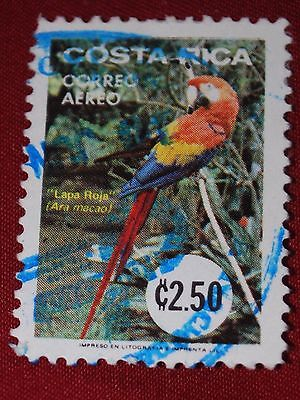 Costa Rica Used Stamp 2.50