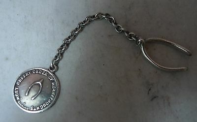 Antique Silver Fob Most Cheery Order Of Merrythoughts 29545 A608717
