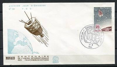 17-05-05433 - Monaco 1965 Mi.  - FDC 100% UIT Telecommunications Relay