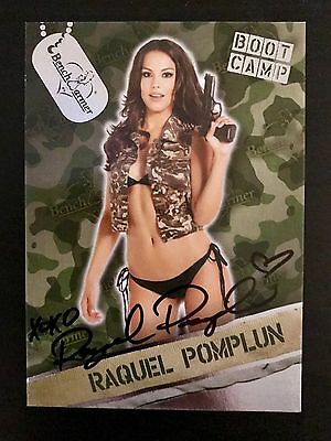 Raquel Pomplun Boot Camp Benchwarmer Trading Card
