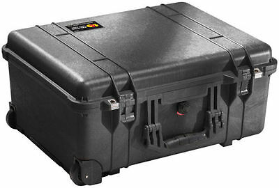 NEW Black Pelican 1560 Watertight Case (No Foam)