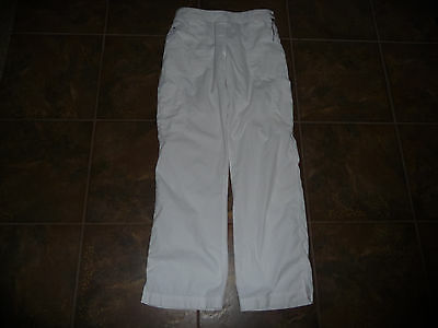 KOI Medium TALL White Scrub Bottoms Style 709 Sara Pant