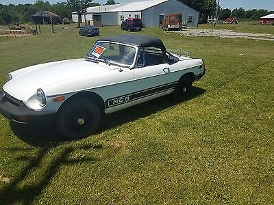 1977 MGB Convertible, original. In good condition.